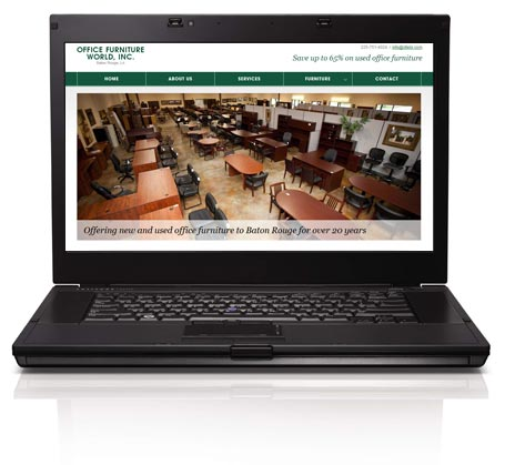 Office Furniture World website goes live