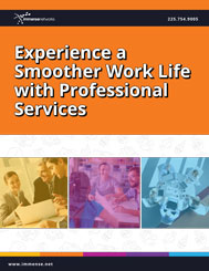 Experience a smoother work life with professional services whitepaper cover