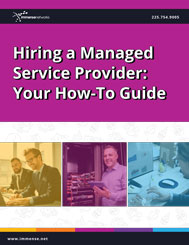 Hiring a managed service provider whitepaper cover